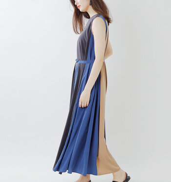 ノースリーブデザインのワンピースは、一枚で着るだけでサマになるうえ、涼しげな雰囲気をアピールできるお洋服。もちろんボトムスやトップス、カーディガンなどを合わせて、レイヤードスタイルを楽しんでも素敵♪  今回はそんなノースリーブワンピースを、おすすめカラー別にご紹介します。お気に入りを見つけて、ぜひこの夏のワードローブに加えてみてくださいね。