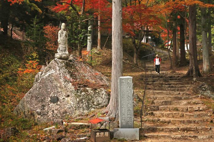 羅漢寺は、荒川右岸にそびえ立つ標高1058メートルの羅漢寺山東麓に位置する曹洞宗の寺院です。