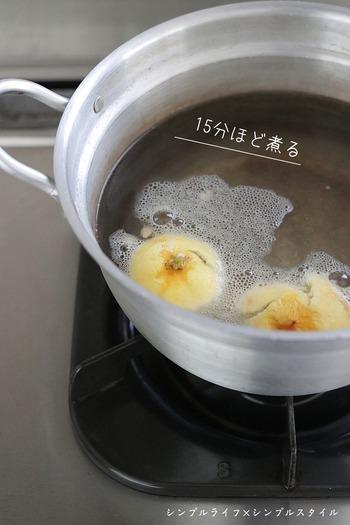傷が付きやすく研磨ができないプラスチックの水垢取りには、クエン酸やお酢を使うのがおすすめ。でもクエン酸をわざわざ購入したくなかったり、お酢の匂いが気になる方は、レモンでも代用可能です。レモンの皮で直接水垢を擦ってもいいですし、果汁をそのまま使うのはもちろん、皮を15分ほど煮込むと便利なレモン水が出来ますよ。