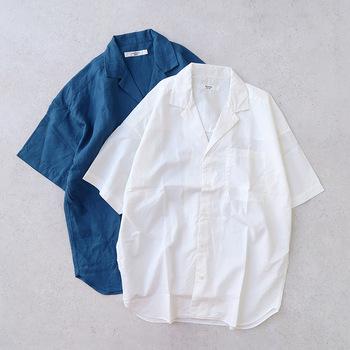 夏に出番が増えるトップスと言えば、Tシャツ。一方で、「体型的に似合わない」「あのカジュアルな雰囲気がちょっと…」など、Tシャツが苦手という方も意外と多いのでは?  そこでおすすめしたいのが、ゆったりめのシルエットが魅力のビッグシャツ。気になる二の腕やお腹まわりをしっかりカバーしてくれるうえ、風が通りやすいので暑い夏も快適。さらに薄手の素材であれば、長袖でも涼やかに過ごせます。  今回は、そんなビッグシャツを使った素敵な夏コーデをご紹介。Tシャツに頼らず夏のおしゃれを楽しみたい方は、ぜひ参考にしてみましょう♪