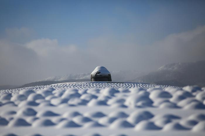 夏には一面のラベンダーに囲まれ、冬には頭に雪が降り積もった姿も見ることができます。北海道らしい豊かな自然と厳かな大仏様の姿は、きっと見る人を穏やかな気持ちにさせてくれます。