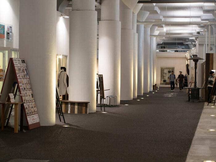 また、ここの一角には広いスペースを確保したイベントスペースもあり、『もの作り』にこだわった展示やワークショップその他、様々なイベントも開催されています。