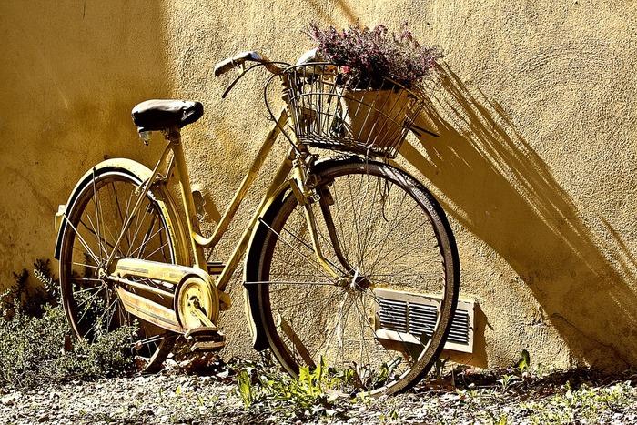 移動には、スカートでも気軽に街へお出かけできるミニベロなどの小型自転車がおススメ。センスのいいお洋服が見つかるセレクトショップや、素敵なお花屋さん、本屋さん、雑貨屋さんなど、街を自由に巡ってみませんか?