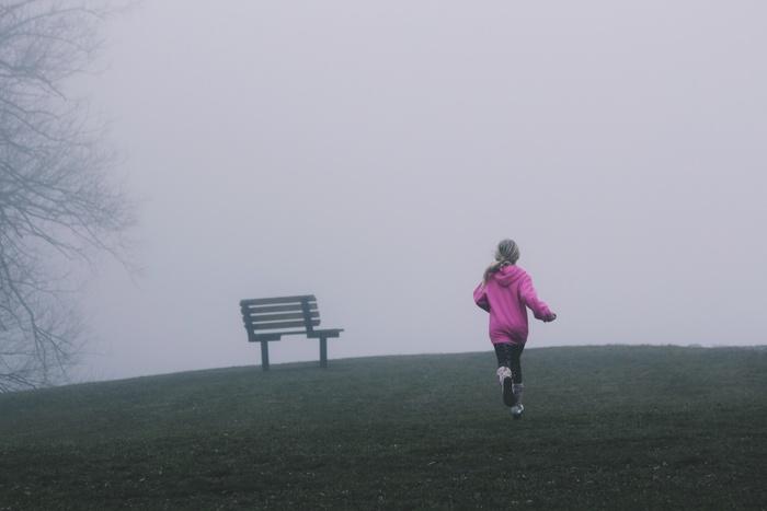 お子さんと一緒に走るのも楽しい時間です。