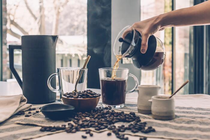 この少しの手間を寝る前に準備しておくだけで、朝ゆっくりコーヒーをいれて飲む時間を作ることができますよ!