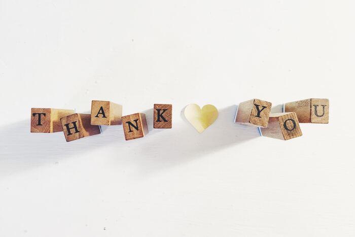 レッスン終了間際は、感謝の気持ちを伝えましょう。  I really enjoyed talking with you!(お話しできて楽しかった!) Thank you so much.(ありがとう。) See you.(また今度。)