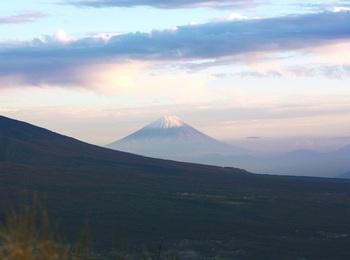 時には富士山も望めます。