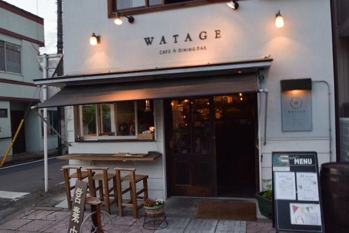 秩父鉄道の秩父駅前にあるカフェ&ダイニング「WATAGE(ワタゲ)」は、豊富なメニューの中でも創作イタリアンがおいしいと評判です。