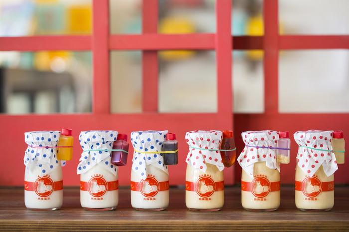 そして、この牛乳瓶のようなパッケージがどこか懐かしい大人気!ついついたくさん集めたくなってしまいますよね。「かばさん」のマークも可愛いポイントです♪