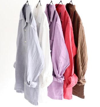 爽やかでナチュラル。「リネンシャツ」でつくる大人の垢抜けコーデ