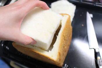 まるごと1斤のパンの中身をくり抜いて器代わりにしてサンドイッチを詰めた「パン・シュープリーズ」や、フィリングを詰めて中身を切って戻し、こんがりオーブンで焼いた「パングラタン」などが楽しめます。
