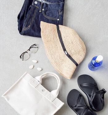 実際にコーデを見ていくと、思っていたよりも普段の服装に気軽に取り入れられそうですよね!日差しが強い暑い日には、麦わら帽子コーデを楽しんでくださいね♪