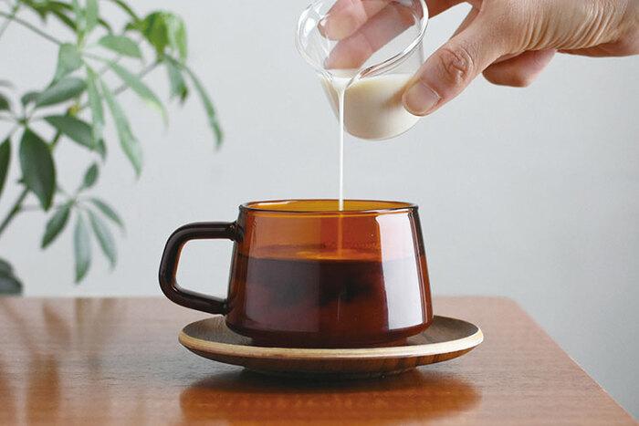 一息ついたり、リフレッシュしたり・・・毎日に欠かせないコーヒータイム。カップが変わると、まるで味まで変わったように思えてしまうかも?お気に入りのカップを相棒に、お家のカフェタイムを豊かにしませんか。