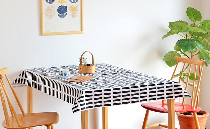 ずっと見ていても飽きることのない普遍的なデザインの「artek(アルテック)」らしいテーブルクロス。北欧ミッドセンチュリーの巨匠たちを彷彿とさせる、おしゃれなデザインに仕上がっています。