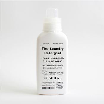 """""""世の中の定番と呼ばれるものの基準値を引き上げていくこと""""を目指す「THE」の洗濯洗剤は、人と環境に考慮して開発されています。あらゆる素材の衣類にマルチに使え、ラベンダーのふんわりした優しい香りも◎"""