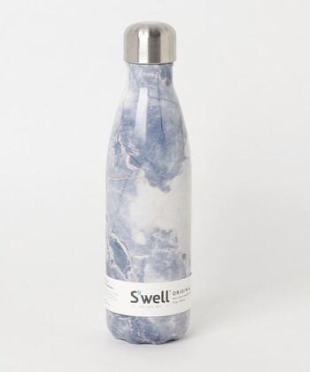 こちらはニューヨーク生まれのボトル型魔法瓶。スマートなデザインとカラフルな色使いが特徴です。