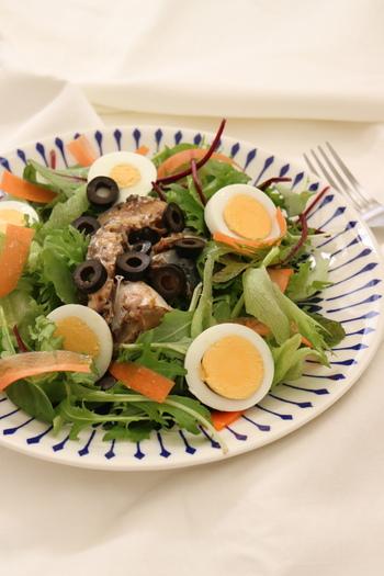 種類豊富な鯖缶のうち、『鯖のオリーブオイル漬け』を使ったそう。  コツは。 ↓↓