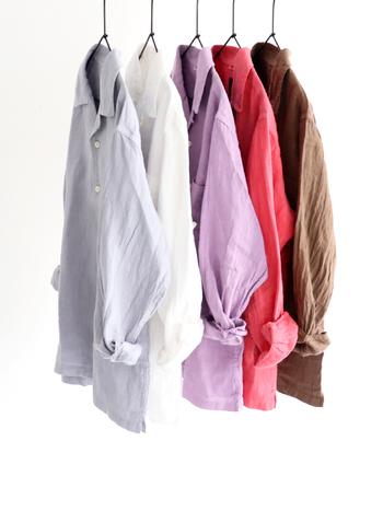 天然素材にこだわったり、仕立てにこだわったり・・・シンプルでナチュラルな服は着ていて心地の良いものです。思わず色違いで欲しくなるような、素敵なリネンのお洋服を扱っているブランドを集めました。これからの季節に毎日登場させたくなりますよ。