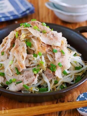 豚肉ともやしの組み合わせで、こんなにいろんなレシピが作れます。ご紹介したレシピのように、部位や調理法、食べ方などでアレンジをして、レパートリーを増やしてみてくださいね。