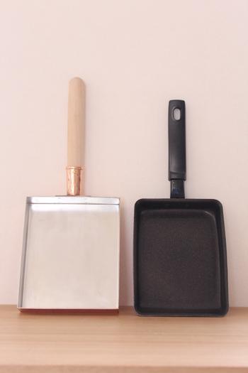 卵焼き器には様々な材質のものがありますが、素材によってお手入れの仕方や卵焼きの仕上がりが異なります。素材ごとの特徴をよく理解して選ぶことも大事なポイントです。