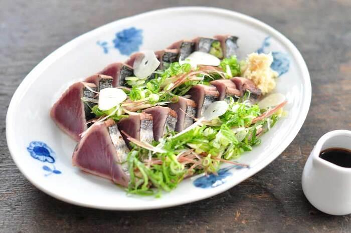 かつおやまぐろなど、魚介類もタンパク質を効率よく摂ることができます。体重が気になるなら脂肪分が少ない、赤身の部分を食べるようにしましょう。