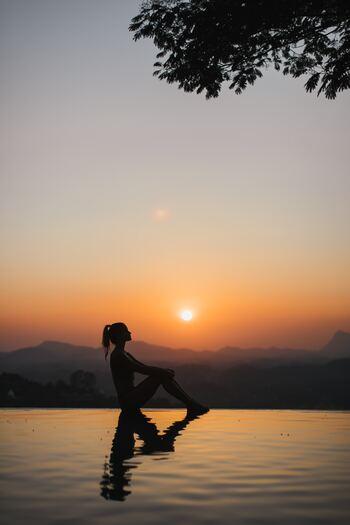 疲れたな、やる気が出ないなと感じたときは、心も体もリラックスできる時間を。誰にも邪魔されない、ひとりの心地よさを感じるのです。