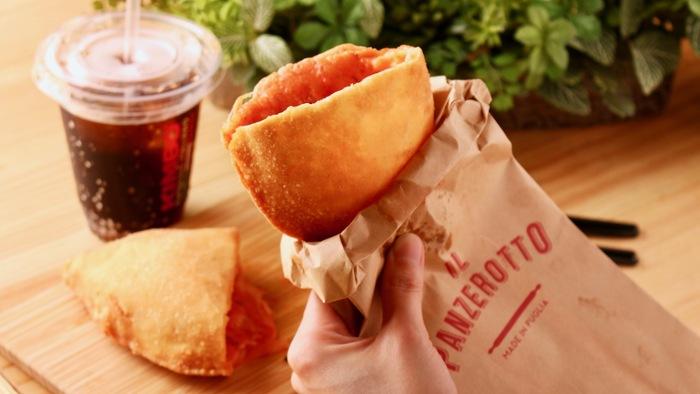 片手でぱくっと食べられる手軽さも人気で、代官山店ではテイクアウト・イートインどちらも可能です。