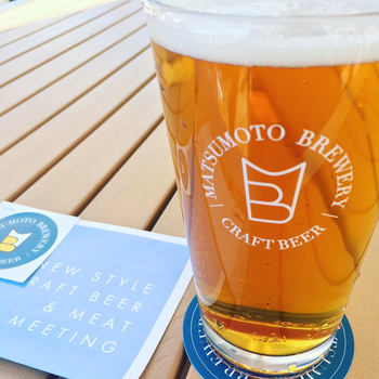 同じくメディアガーデン3階にあるクラフトビールのお店です。水が美味しい松本は、クラフトビールももちろん格別です!