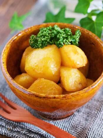 ジャガイモを身近な麺つゆやバターで調理すれば、ビックリするほど美味しく大変身!お弁当のおかずにも最適です♪