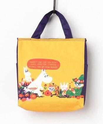 そして北欧デザインといえば、人気のMOOMINも忘れてはいけませんね♪ファスナー付きのおしゃれな保冷バッグです。ちょっとしたお買い物にも、通勤・通学にも重宝しますよ。