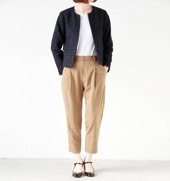 綺麗なシルエットのお洋服が特徴の「yangany」。ゆったりとしていながらきれいめで大人っぽいアイテムが手に入ります。