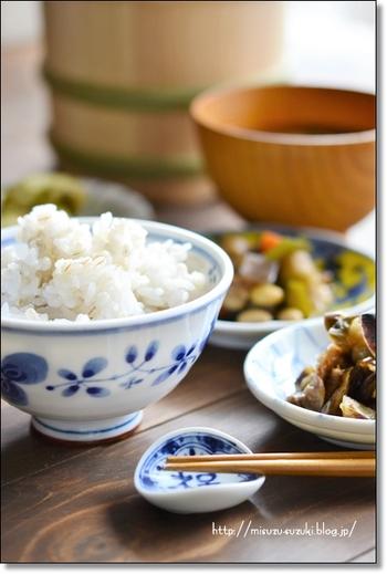 プチプチ、もちもちっとした楽しい食感。白米に混ぜて炊くので、咀嚼しながらこのプチっと食感に出会えるのが、楽しく感じられます。  思い立ったらすぐ日常に取り入れるのもうれしいポイント。