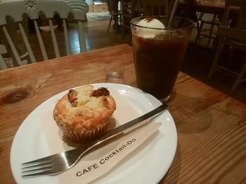 マフィンのみならずコクテル堂コーヒーにあるスイーツは全てパティシエの手作りです。季節に合わせたスイーツが楽しめるので美味しいコーヒーのお供に良いですね。