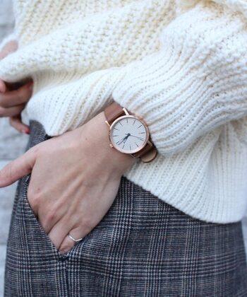 スウェーデン初のインテリアブランドである「innovator(イノベーター)」。2017年より新たに腕時計がデビューしました!シンプルだけど、どこか女性らしさを感じるラインナップです。