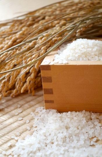 「新米」とは、正確には収穫した年の12月31日までに精製し、袋詰めされたお米のこと。約2〜3ヶ月の短い間しか出回りません。一方、前年に収穫したお米を「古米」と呼び、1年古くなるごとに「古々米」「古々々米」と「古」の数も増えていきます。