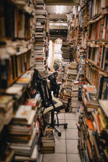 気になった本は、とりあえず閲覧席に行ってパラパラめくってみて。その中から特に気になったものをピックアップして借り、家でじっくり読んでみましょう。