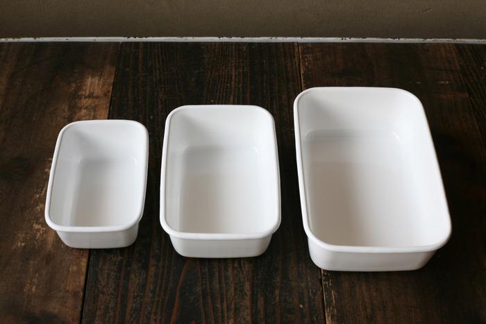 1934年の創業から、80年以上、琺瑯製品だけを作り続けてきた「野田琺瑯」。特にホワイトシリーズが人気で2013年には、グッドデザイン・ロングライフデザイン賞を受賞。