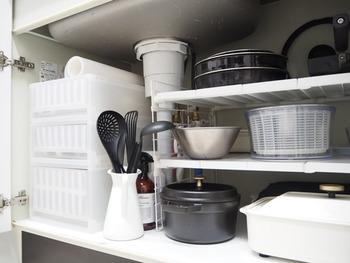 シンプルでおしゃれなデザインなので、キッチンに出しっぱなしにしていても、キッチン棚にサッと収納しても、用途に合わせて使いこなしましょう!