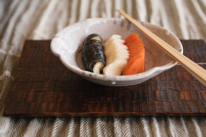いろいろな野菜で試してみよう。おうちで簡単【ぬか漬け】のはじめ方