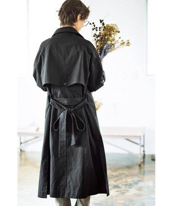 「トレンチコート」を春・秋で着まわそう!着る時期・選び方と参考コーデ集