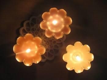秋の夜長に*「手作りキャンドル&キャンドルホルダー」の作り方アイデア集
