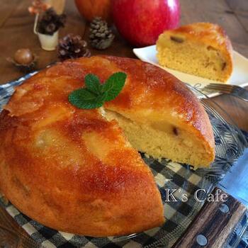 炊飯器にスイッチポンでできちゃうお手軽ケーキ。丸いドーム型で見た目もかわいい!