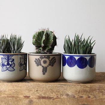 急激な寒さには観葉植物も弱いんです。普段の鉢に鉢カバーをつけるだけでも、寒さ対策になりますよ。植物好きな方へのプレゼントにもおすすめです。