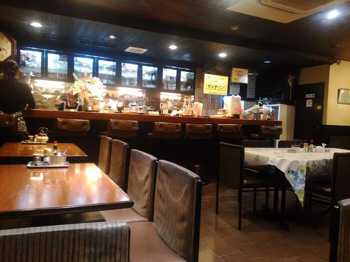 昔懐かしい趣のある店内。熊本のメイン通りとは思えないほど、静かで落ち着く空間です。一人でのんびりと過ごせます。