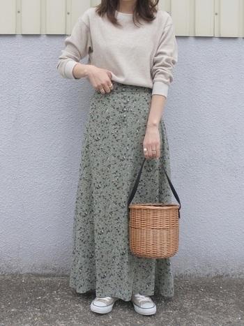 大人気のロングスカート、秋もたくさん履いてお洒落を楽しみたいものですね。とは言え、夏とは違ってレイヤードする際に、色合わせの他に素材合わせのバランス感も重要になってきます。いろんな角度から秋コーデへのシフト方法をご紹介しつつ、トレンドのとろみスカートの着こなし方もあわせてご紹介いたします♪