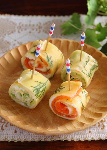 野菜やお肉をくるくる巻いて♪おもてなしにぴったりの「巻き巻きレシピ」