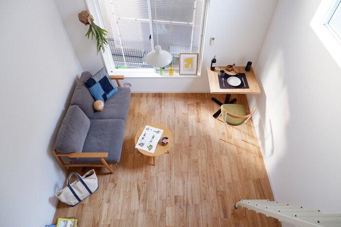 床材の色によって、お部屋の印象は大きく変わります。樹種それぞれに特徴があるため、以下のポイントを参考に選んでみてはいかがでしょうか。