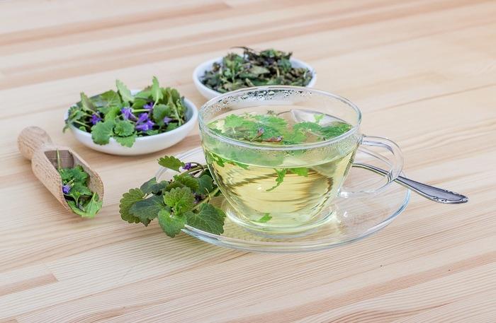 ゼラニウムの葉をきれいにして、紅茶のティーバッグと一緒にしてお湯を注げば、いつもの紅茶も違う味わいに。自身の体調や気分によって、ハーブをいくつか組み合わせるのもいいですね。