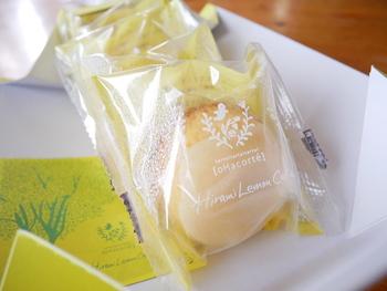 こちらのシークヮサー(ヒラミレモン)で作るふんわりとした食感も魅力的な「ヒラミーレモンケーキ」は、味わいもさわやかで沖縄らしいと、お土産としてだけでなく、お家用に購入する方も多いとか。