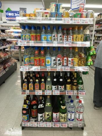 地酒を安く購入できるのも地元のスーパーマーケットならでは。お酒好きの方へのお土産は地元のスーパーマーケットで購入も良いかも。